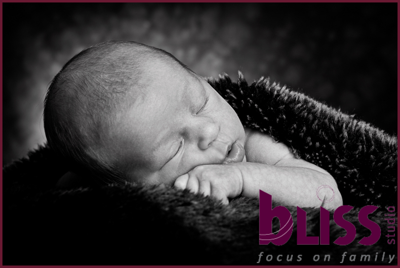 Black and white baby photos perth